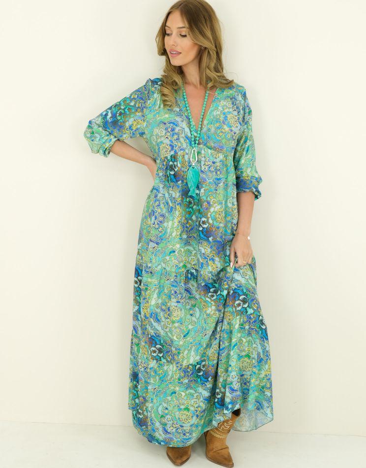 Robe Longue Oversize -...
