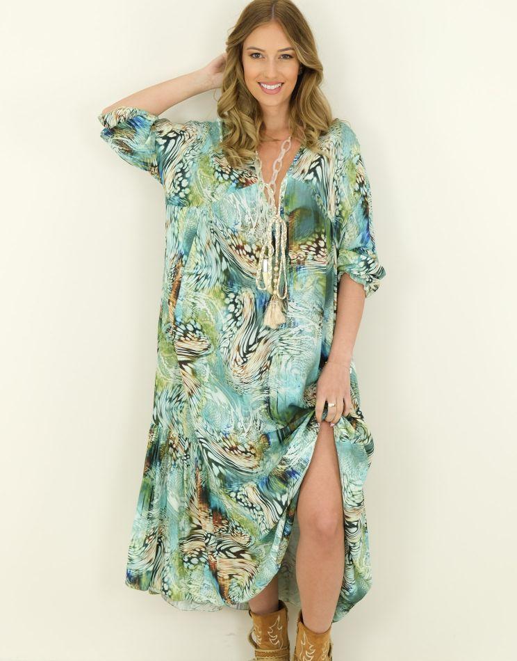 Wild Oversized Dress - Back...