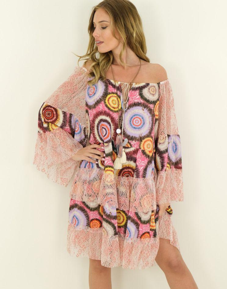 Robe Oversize Mandala -...