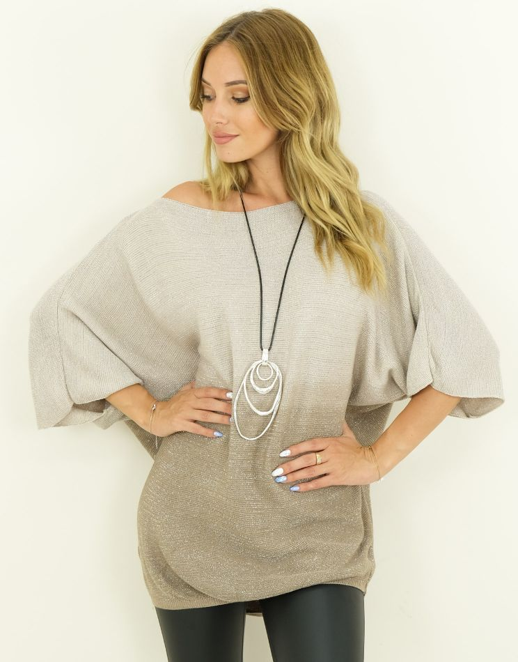 Pull Modal Oversize Mailles...