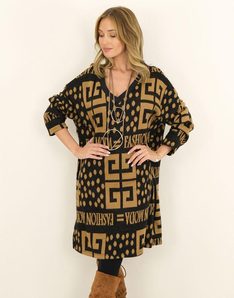 Oversize Sweater Dress |...